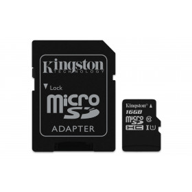Kingston Technology Canvas Select memoria flash 16 GB MicroSDHC Classe 10 UHS-I