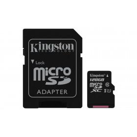 Kingston Technology Canvas Select memoria flash 128 GB MicroSDXC Classe 10 UHS-I