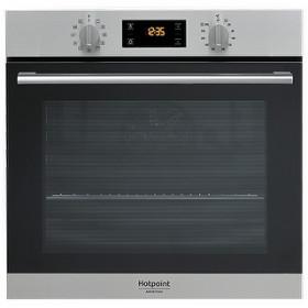 Hotpoint FA2 844 H IX HA forno Forno elettrico 71 L Nero, Grigio A+