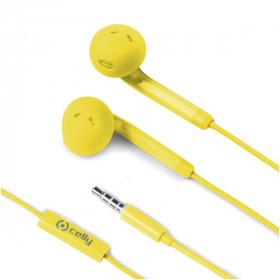 Celly FUN35YL auricolare per telefono cellulare Stereofonico Giallo