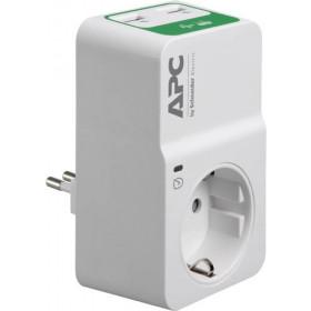 APC PM1WU2-IT protezione da sovraccarico 1 presa(e) AC 230 V Bianco