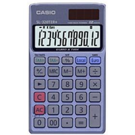 Casio SL-320TER Tasca Calcolatrice finanziaria Grigio calcolatrice