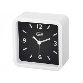 Trevi SL 3820 Quartz alarm clock Nero, Bianco
