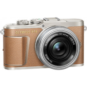 "Olympus PEN E-PL9 + 14-42mm F3.5-5.6 EZ MILC 16,1 MP 4/3"" Live MOS 4608 x 3456 Pixel Marrone"