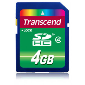 Transcend TS4GSDHC4 memoria flash 4 GB SDHC