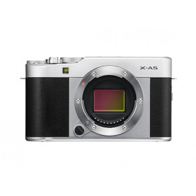 Fujifilm X -A5 + FUJINON XC15-45mm F3.5-5.6 OIS PZ Fotocamera compatta 24,2 MP CMOS 6000 x 4000 Pixel Nero, Argento