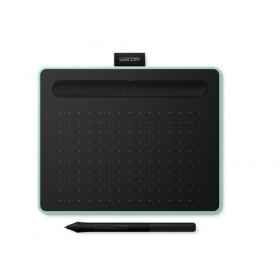 Wacom Intuos S Bluetooth 2540lpi (linee per pollice) 152 x 95mm USB/Bluetooth Verde, Nero tavoletta grafica