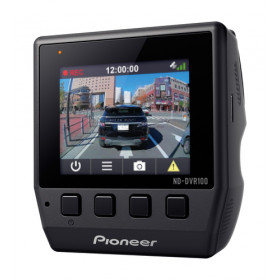 Pioneer ND-DVR100 dash cam Full HD Nero