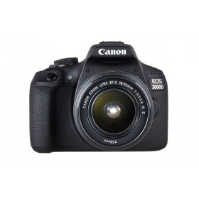 Canon EOS 2000D + EF-S 18-55mm f/3.5-5.6 IS II Kit fotocamere SLR 24.1MP CMOS 6000 x 4000Pixel Nero