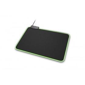 Sharkoon 1337 RGB L Nero Tappetino per mouse per gioco da computer