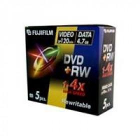 Fujifilm DVD+RW 4.7GB, 5-Pk 4,7 GB 5 pezzo(i)