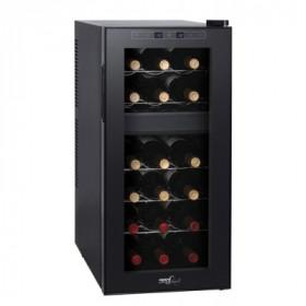 Melchioni Vermentino Dual 18 cantina vino Libera installazione Nero 18 bottiglia/bottiglie Cantinetta termoelettrica D