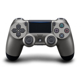 Sony DualShock 4 v2 Gamepad PlayStation 4 Analogico/Digitale Bluetooth/USB Nero, Acciaio inossidabile