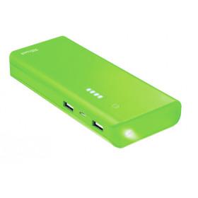 Trust Primo 10000 mAh Ioni di Litio Verde batteria portatile