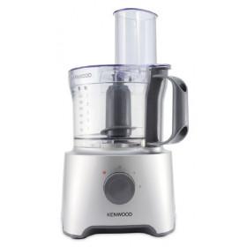 Kenwood Multipro Compact FDP301SI robot da cucina 2,1 L Grigio, Argento, Trasparente 800 W