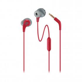JBL Endurance RUN Auricolare Stereofonico Cablato Rosso auricolare per telefono cellulare