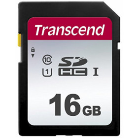 Transcend 16GB, UHS-I, SD memoria flash Classe 10