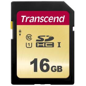 Transcend 16GB, UHS-I, SD memoria flash Classe 10