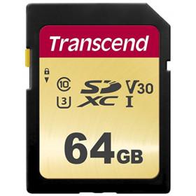 Transcend 64GB, UHS-I, SD memoria flash Classe 10