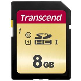 Transcend 8GB, UHS-I, SD memoria flash Classe 10