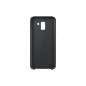 DUAL LAYER COVER BLACK GALAXY J6