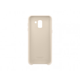 DUAL LAYER COVER GOLD GALAXY J6