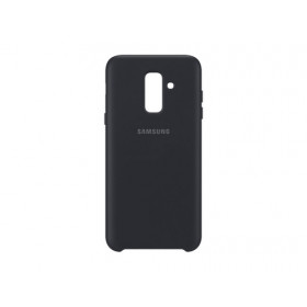 DUAL LAYER COVER BLACK GALAXY A6+