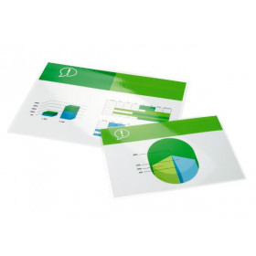 GBC Pouch per plastificazione documenti A4 2x100mic lucide (100)