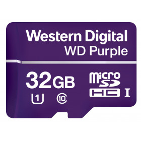 Western Digital Purple 32GB MicroSDHC Classe 10 memoria flash