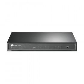TP-LINK T1500G-8T Gestito L2/L3/L4 Gigabit Ethernet (10/100/1000) Nero Supporto Power over Ethernet (PoE)