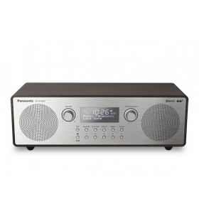 Panasonic RF-D100BT radio Portatile Digitale Nero, Grigio