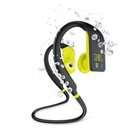 JBL Endurance Dive Aggancio Stereofonico Senza fili Nero, Giallo auricolare per telefono cellulare
