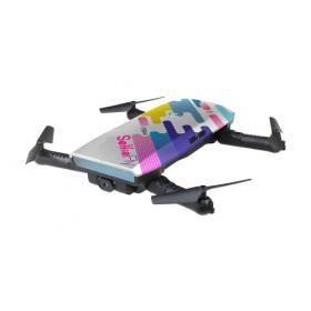 TEKK Selfie & Fly 4rotori Quadrirotore 2MP 1280 x 720Pixel 500mAh Multic