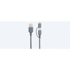 Sony CP-ABLP150 cavo USB 1,5 m 2.0 USB A Micro-USB B/Lightning Grigio