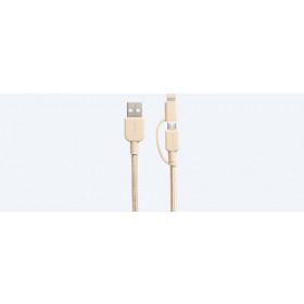 Sony CP-ABLP150 cavo USB 1,5 m 2.0 USB A Micro-USB B/Lightning Oro