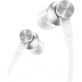 Xiaomi Mi In-Ear Headphones Basic auricolare per telefono cellulare Stereofonico Argento, Bianco