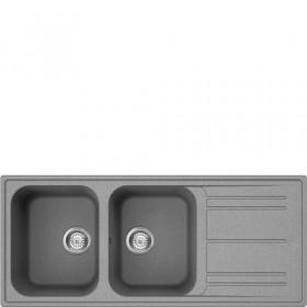 Smeg LZ116CT Lavandino da cucina per installazione Flush Rettangolare lavello