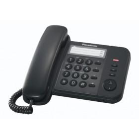 Panasonic KX-TS520EX1B Telefono analogico Identificatore di chiamata Nero telefono