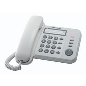 Panasonic KX-TS520EX1W Identificatore di chiamata Bianco telefono