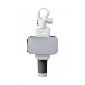 Cellularline Total View Smartphone Nero, Bianco bastone per selfie