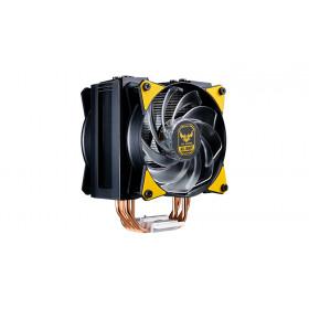 Cooler Master MasterAir MA410M Processore Refrigeratore 12 cm Nero, Giallo