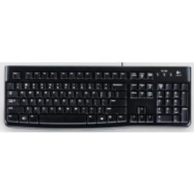 Logitech K120 tastiera USB AZERTY Francese Nero