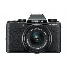 Fujifilm X T100 + XC 15-45mm F/3.5-5.6 OIS PZ MILC 24,2 MP CMOS 6000 x 4000 Pixel Nero