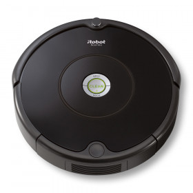 iRobot Roomba 606 aspirapolvere robot Senza sacchetto Nero 0,6 L