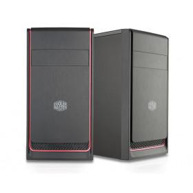 Cooler Master MasterBox E300L Mini Tower Nero, Rosso