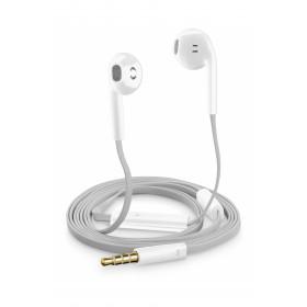 Cellularline Auricolari Slug Capsula Universali con Microfono Bianchi