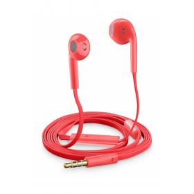 Cellularline Auricolari Slug Capsula Universali con Microfono Rosa