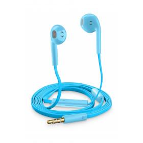 Cellularline Auricolari Slug Capsula Universali con Microfono Blu