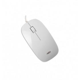Adj MO110 3D mouse USB Ottico 1000 DPI Ambidestro Bianco