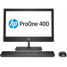 "HP ProOne 400 G4 50,8 cm (20"") 1600 x 900 Pixel Intel® Core™ i5 di ottava generazione 8 GB DDR4-SDRAM 1000 GB HDD Nero PC All-in-one Windows 10 Pro"